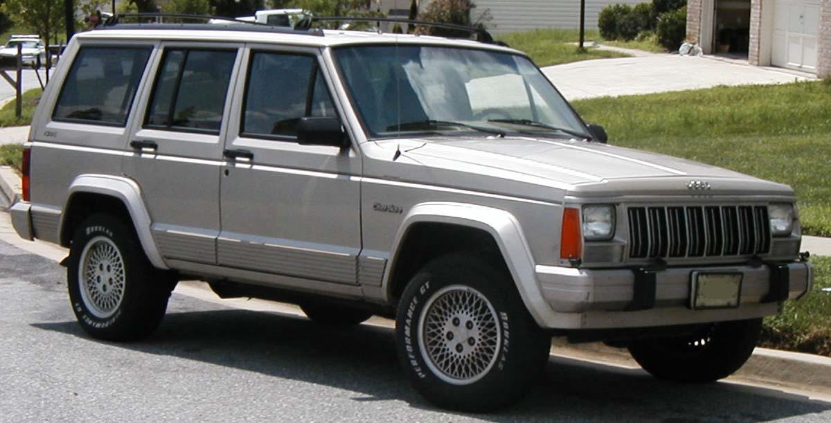 Carros adelante de su tiempo: Jeep Cherokee XJ | placervial.com