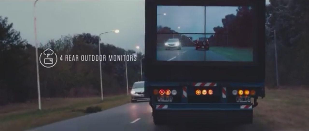 Nada nuevo, pero una gran idea para las carreteras como las nuestras ...