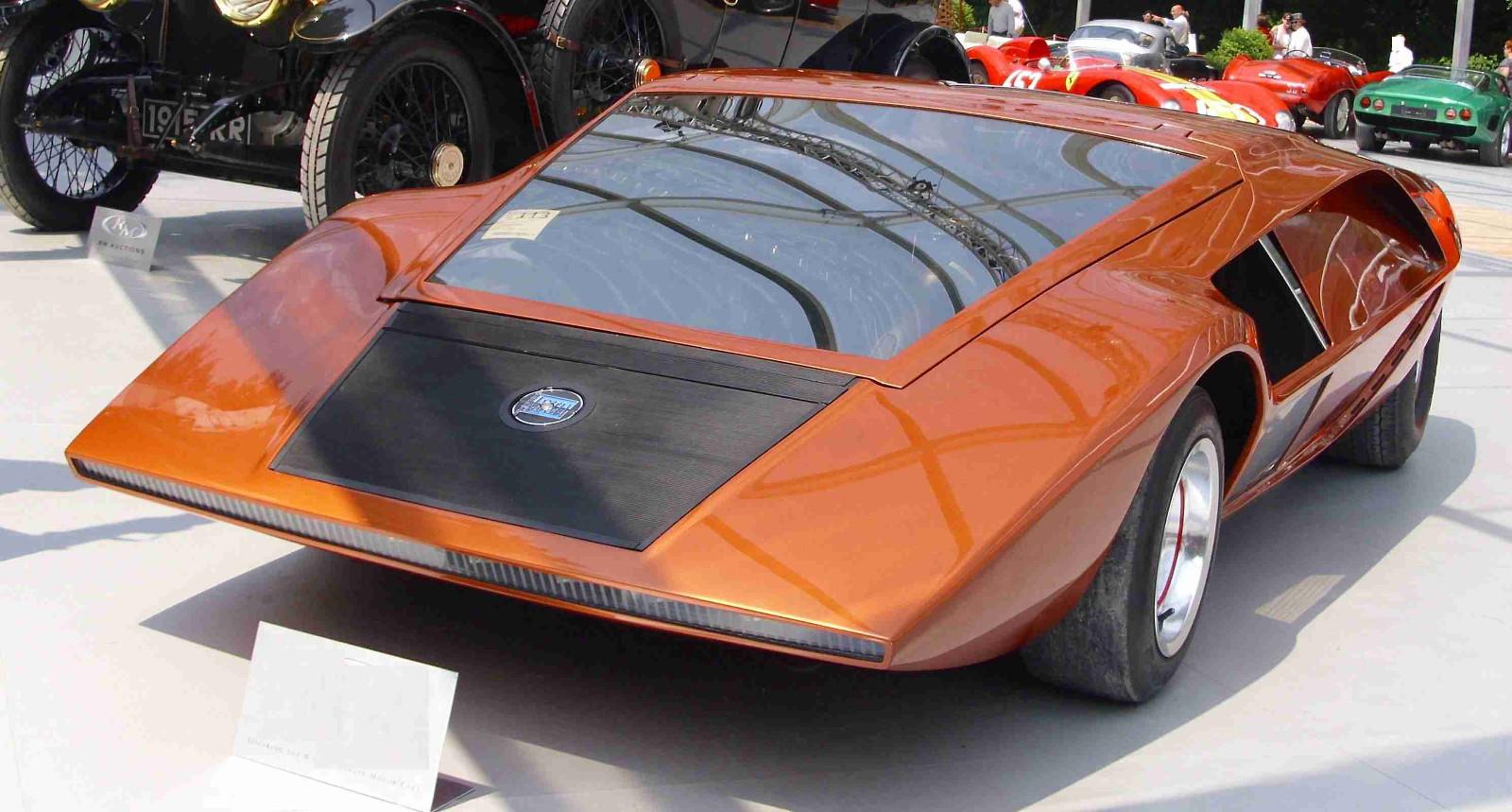 Carros Concepto: Lancia Stratos Zero | placervial.com
