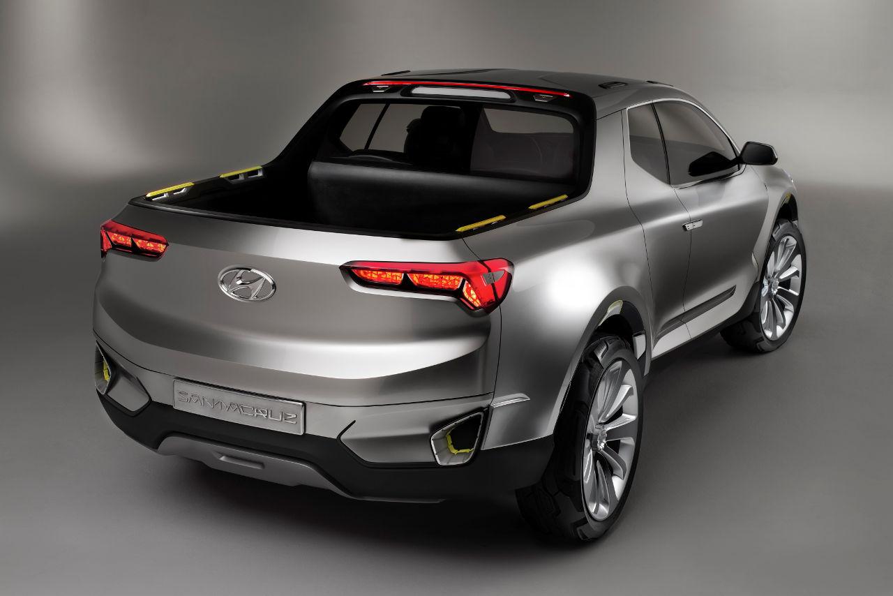 El Cajon Subaru >> Los carros del Auto Show de Detroit: Hyundai Santa Cruz Pick-up Concept | placervial.com