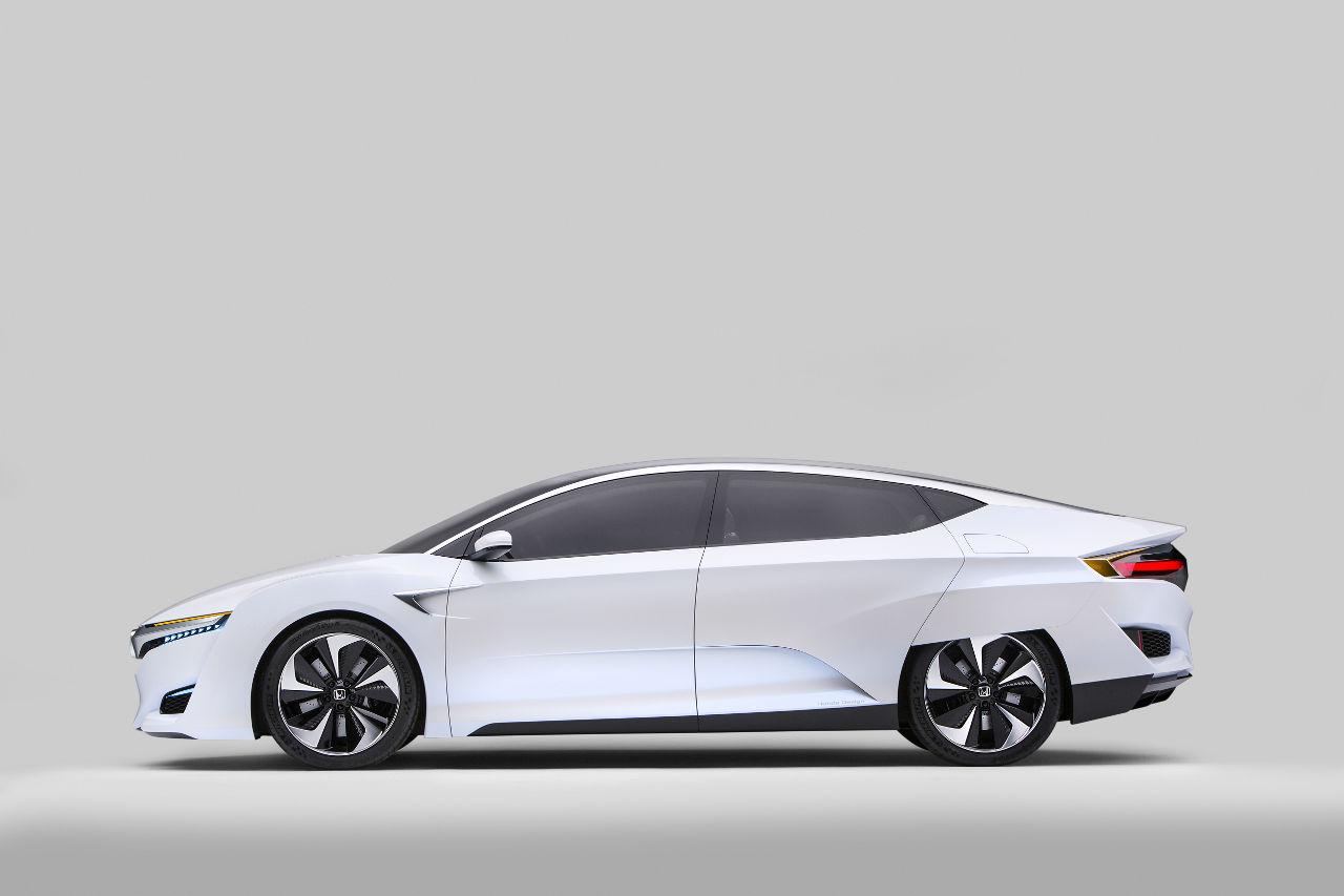 Los carros del Auto Show de Detroit NAIAS 2015: Honda FCV ...