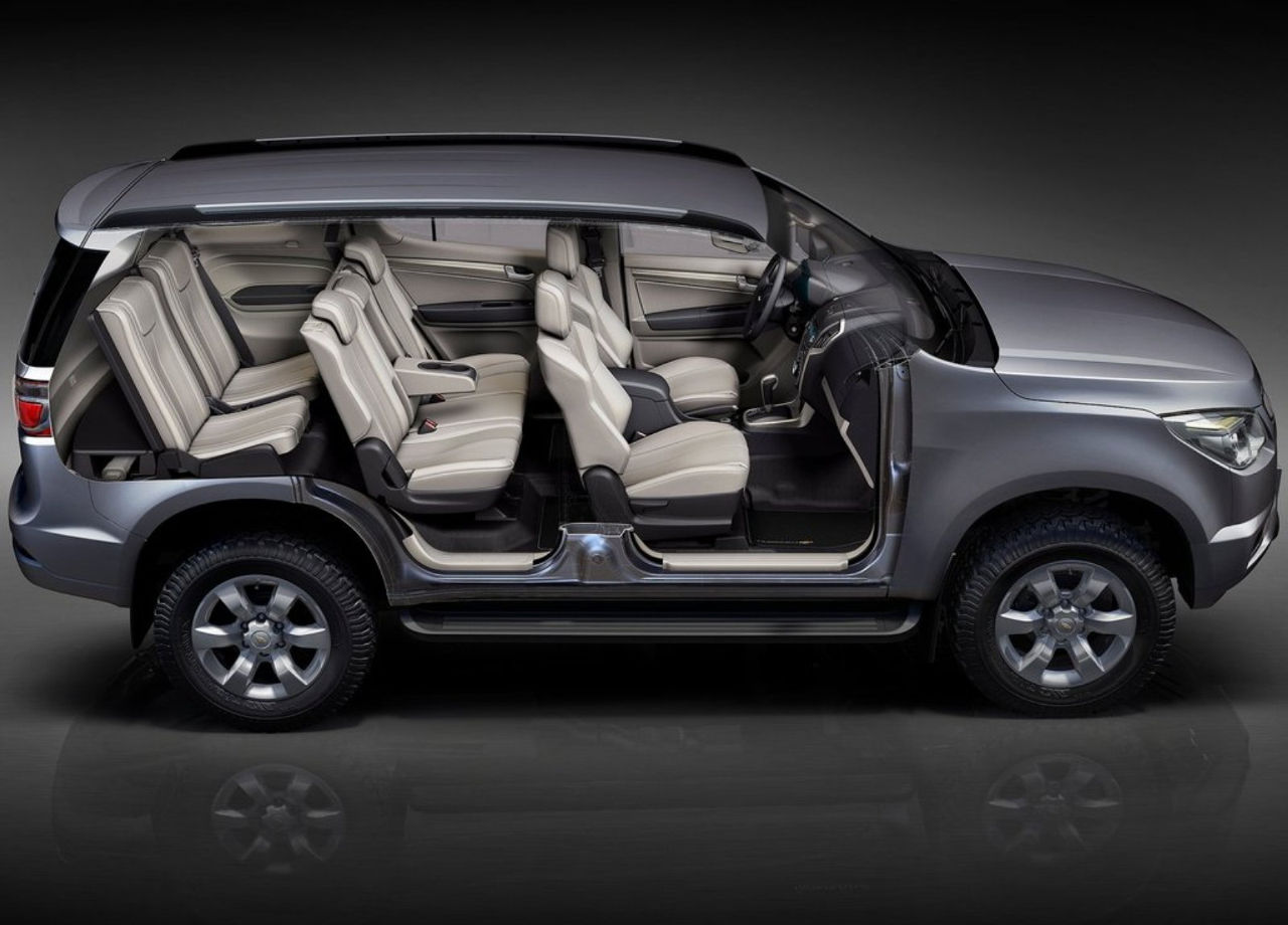Chevrolet Trailblazer: El interior | placervial.com
